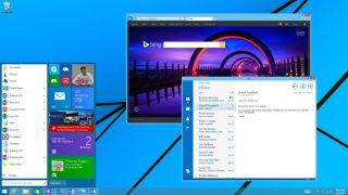 Windows 9 new start menu