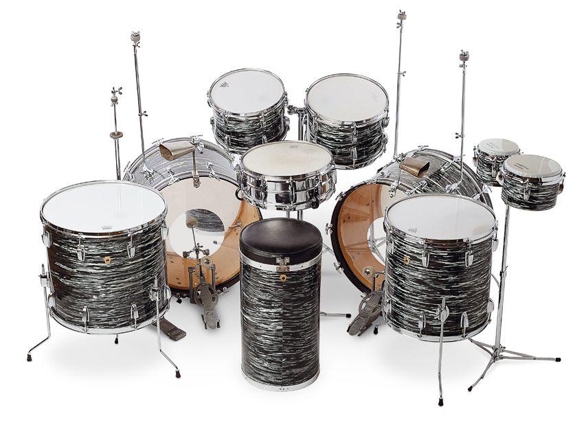 vintage drum gear ludwig kits musicradar. Black Bedroom Furniture Sets. Home Design Ideas