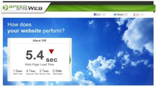 Get your business web site speed-tested for free