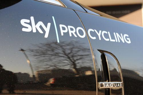 Team car, Team Sky 2010 launch