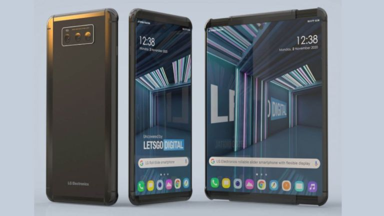 LG Rollable Project B rollable smartphone