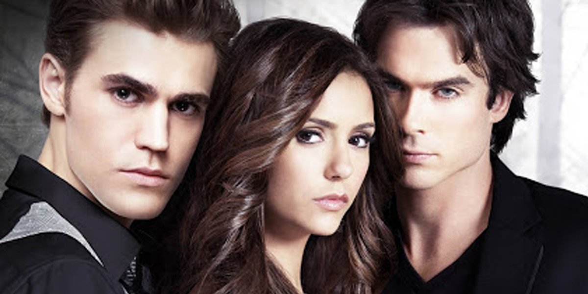 The Vampire Diaries Paul Wesley Nina Dobrev Ian Somerhalder