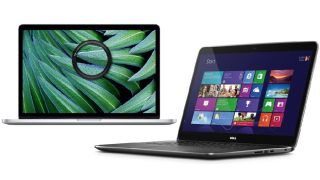 Apple MacBook Pro and the Dell XPS 15