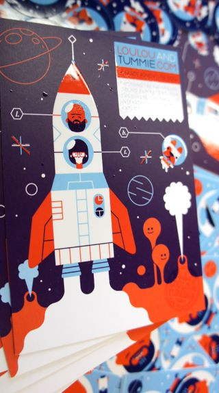 Flyer design Loulou amp Tummie