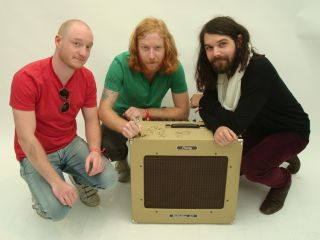 The Biffy boys signing the Delta Blues combo for MusicRadar