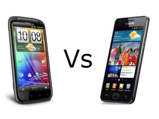 Heads up the HTC Sensation takes on the Galaxy S II