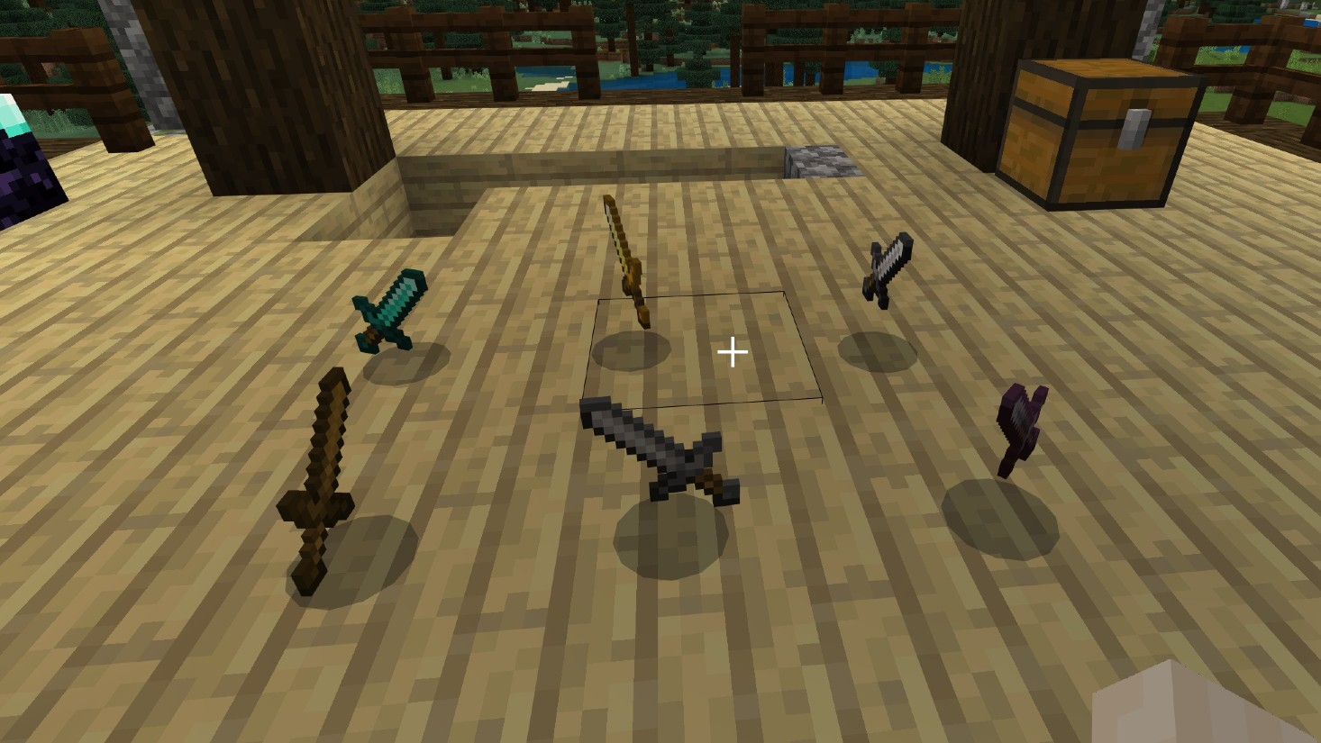 Survive Minecraft's biggest dangers with this swords guide