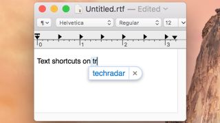 Text Shortcuts Mac