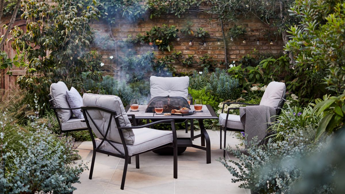 Fire pit patio ideas: 12 ways to cozy up your backyard's paved space