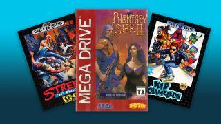 Sega Genesis box art