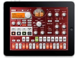 Electribe on the iPad