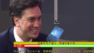 Manic Miner meets Miliband - and BlackBerry
