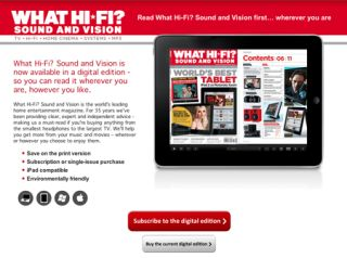 How to download the digital edition of What Hi-Fi? Sound and