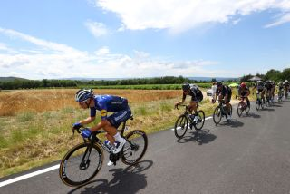 The gruppetto on stage 11 of the Tour de France