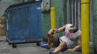 GTA 5's Trevor drunk