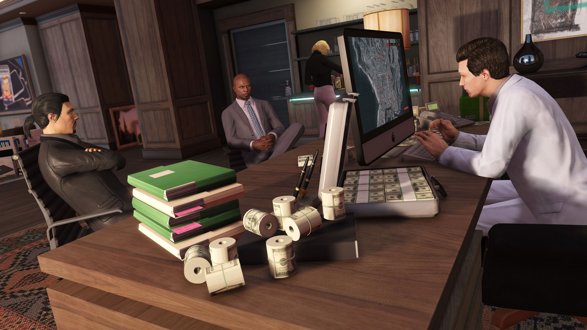 gta v online making money early