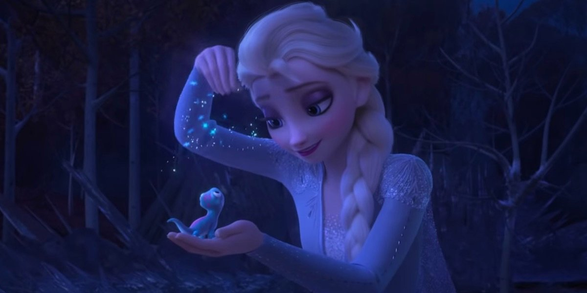 Elsa in Frozen II