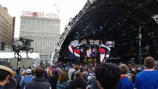 Expansive AV Setup Enhances the NFL Draft Town Experience