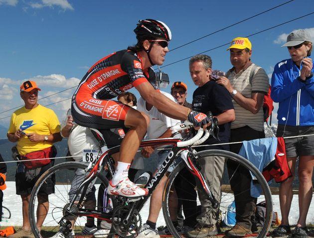 Rigoberto Uran, Giro d'Italia 2010, stage 16 mountain TT