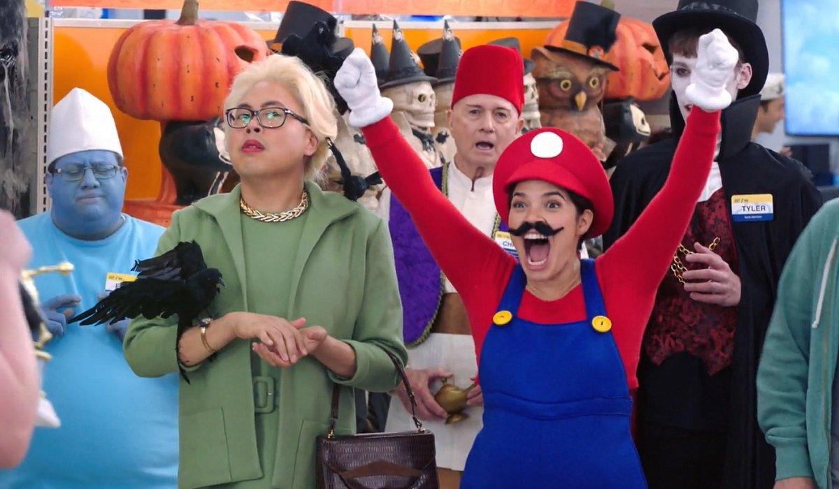 superstore season 4 amy halloween
