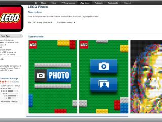Turn reality into Lego with the new official Lego Photo app for iPhone