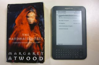 Kindle In your face real books