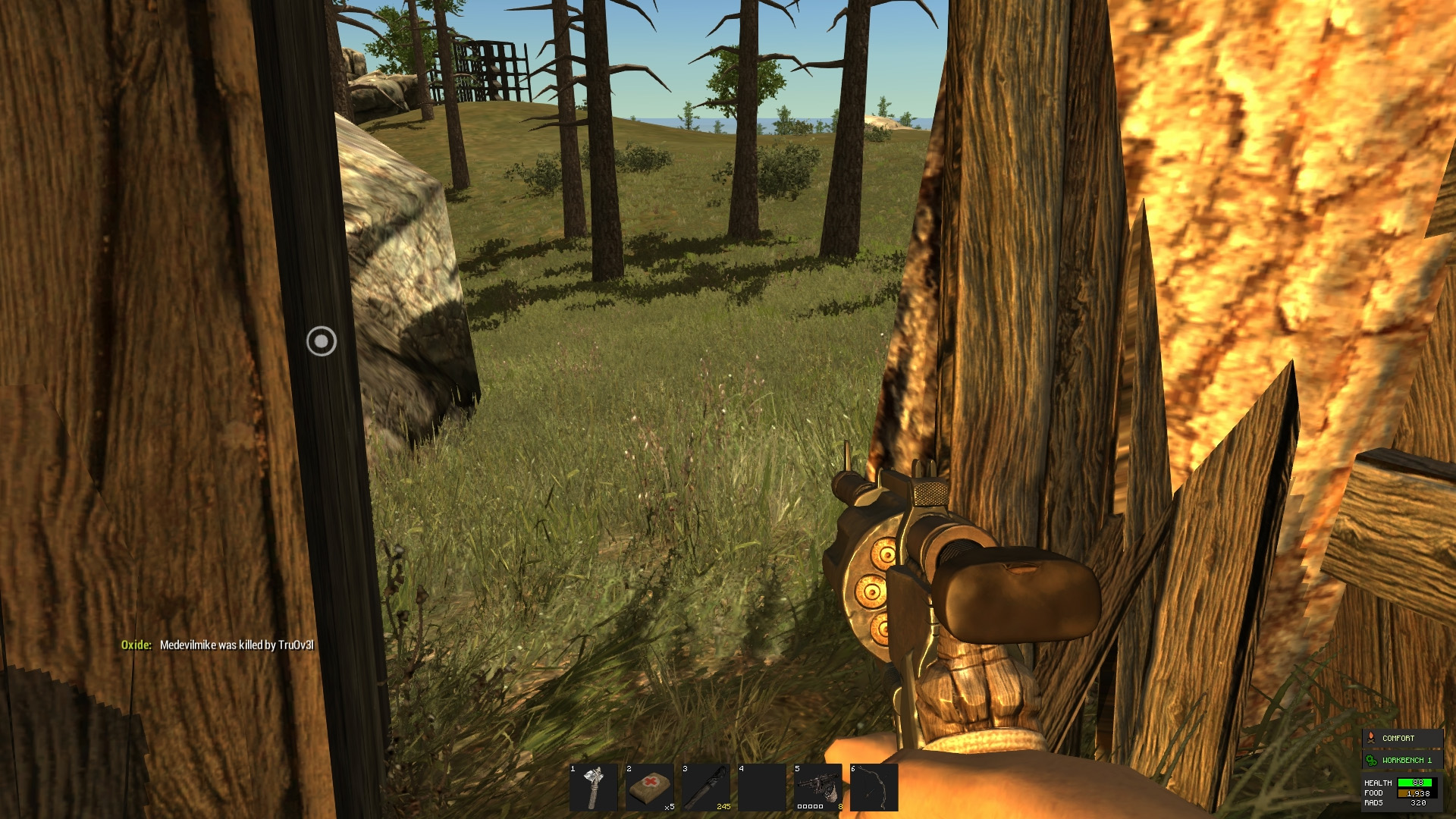 Rust guide: Surviving your first day   PC Gamer