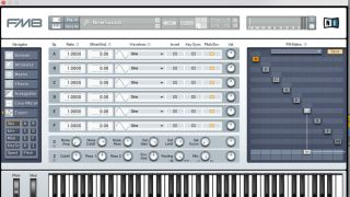 Native Instruments' FM8 is one of the most popular FM synths.