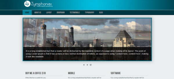 Drupal themes - Professional Responsive Theme