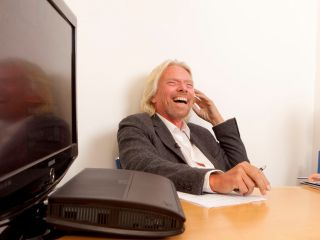 Sir Richard Branson - talks to TechRadar