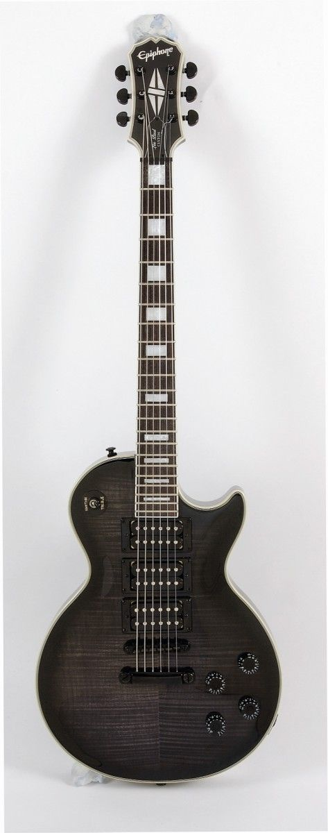 Black Power: the Epiphone LP Custom 3 Plus and its trio of humbuckers