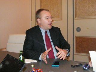 Nokia's CEO Stephen Elop