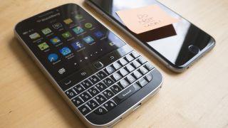 BlackBerry for a fortnight
