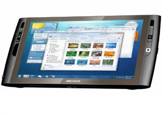 Archos 9 is all screen and no keyboard