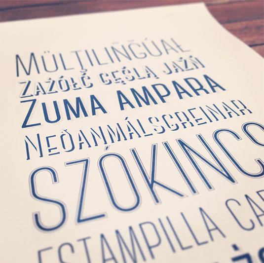 free retro fonts: Canter