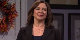 Looks Like Maya Rudolph Stole The Show In SNL's Last Cold Open Before Election