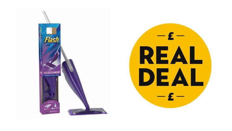 Mrs Hinch favourite: Flash Powermop Starter Kit with real deal logo