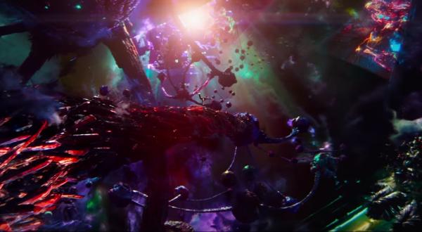 Doctor Strange trippy visuals