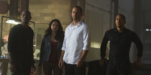 Brian Roman Letty and Tej in Furious 7