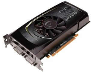 EVGA's GTX 460 graphics card