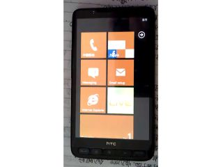 Microsoft's latest mobile OS running on the HTC HD2