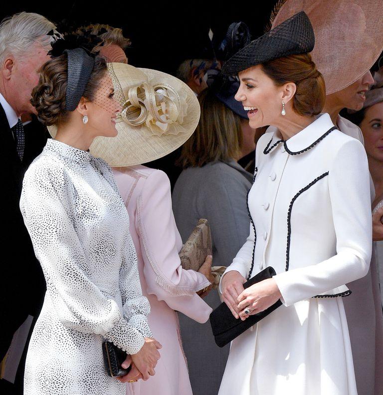 Queen Letizia Duchess of Cambridge