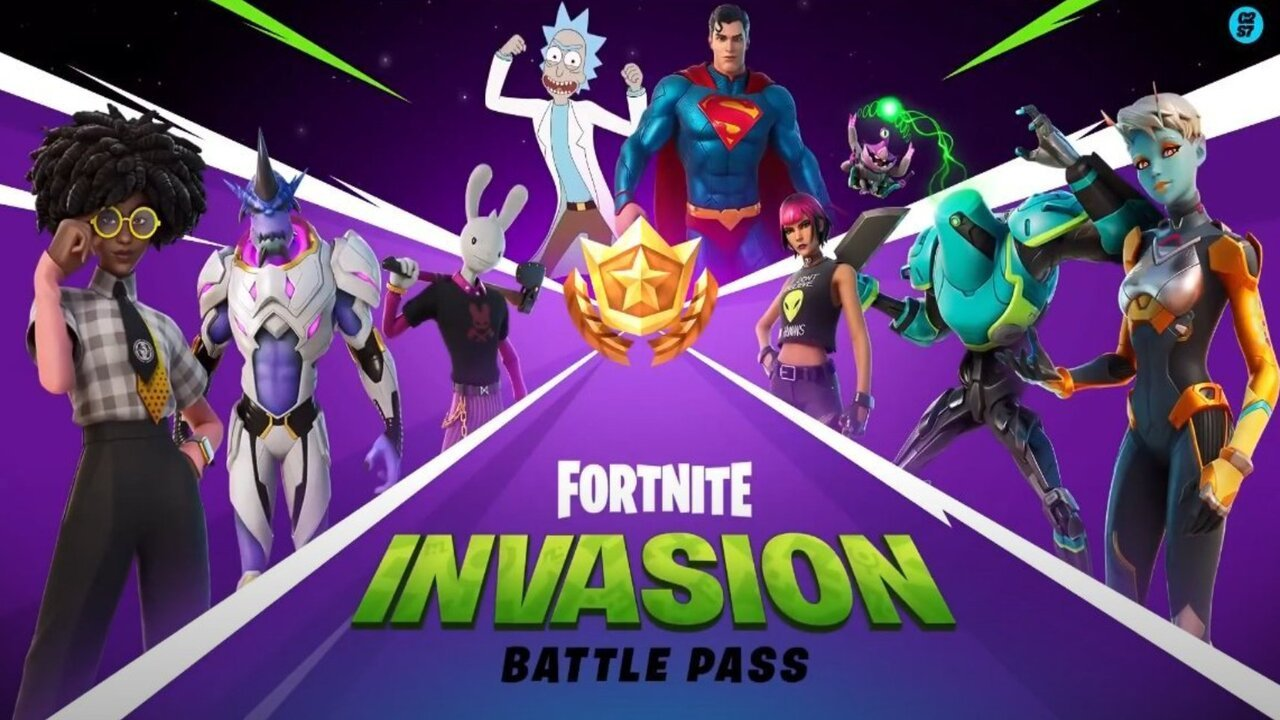 New Fortnite Battle Pass trailer for Season 7 shows off Superman and Rick  Sanchez in action   GamesRadar+