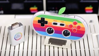 \This retro Apple game controller will even work with an Apple II