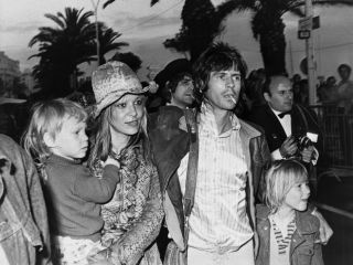Keith Richards and family in France, 1971
