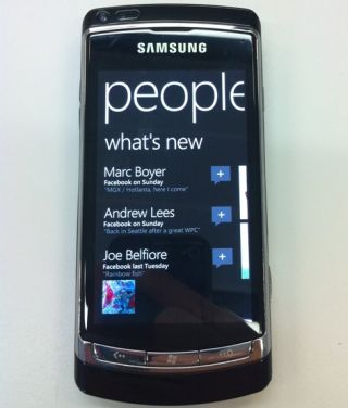Windows Phone 7 - coming to Samsung handsets