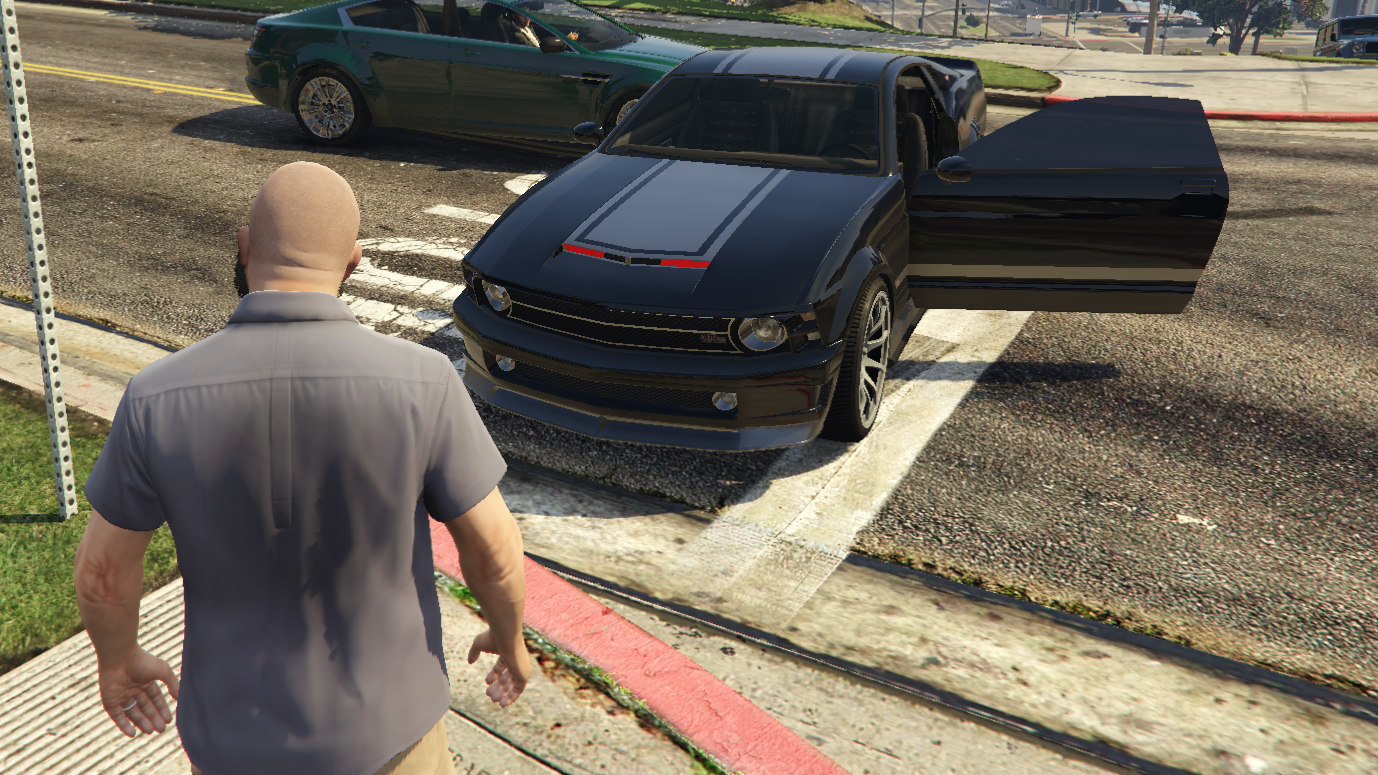 GTA 5 mod adds talking, self-driving cars from Knight Rider