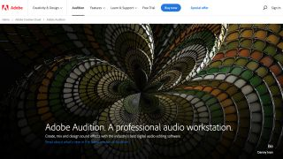 Adobe Audition Website
