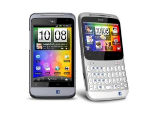 Official pictures of the HTC Salsa and ChaCha