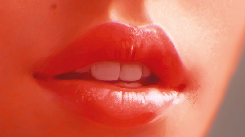 How To Paint Luscious Lips Creative Bloq